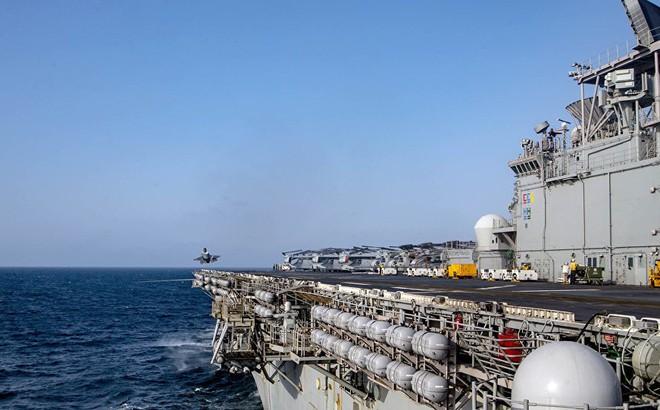 Trung Quốc 'nóng mắt' vì động thái quân sự bất ngờ của Mỹ ở Biển Đông