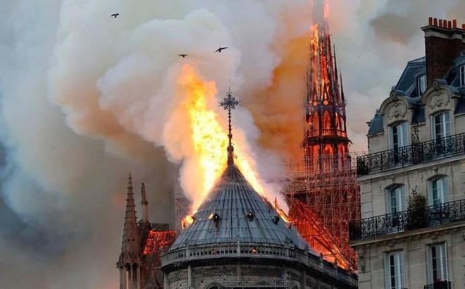 Nguyên nhân gây cháy thảm khốc Nhà thờ Đức Bà Paris