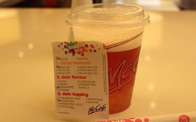 McDonald xin lỗi khách hàng ngộ độc vì trà sữa nhiễm chất tẩy rửa