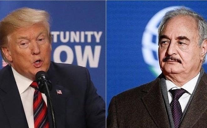 Tổng thống Donald Trump điện đàm với tướng Haftar để thảo luận tương lai Libya