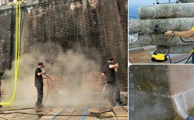 Công nghệ Steam Cleaning liệu có làm hỏng di tích? Yên tâm, hàng trăm công trình lịch sử đã được thử trước rồi