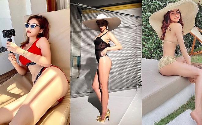 Sao Việt rủ nhau đi bơi, ai là 'nữ hoàng bikini'?