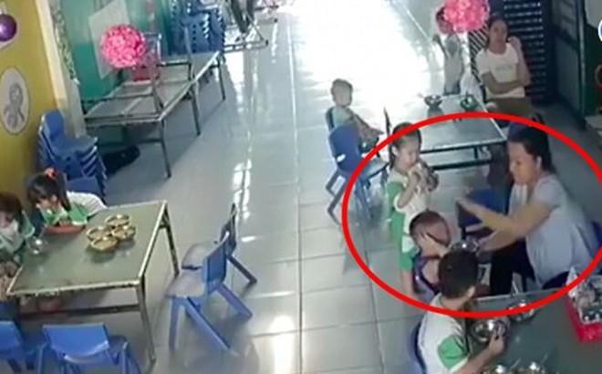 Long An: Bé trai bị cô giáo mầm non đánh tới tấp vào đầu, mặt vì ăn không kịp nuốt