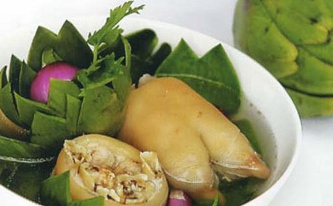 Món ăn bổ dưỡng từ móng giò lợn