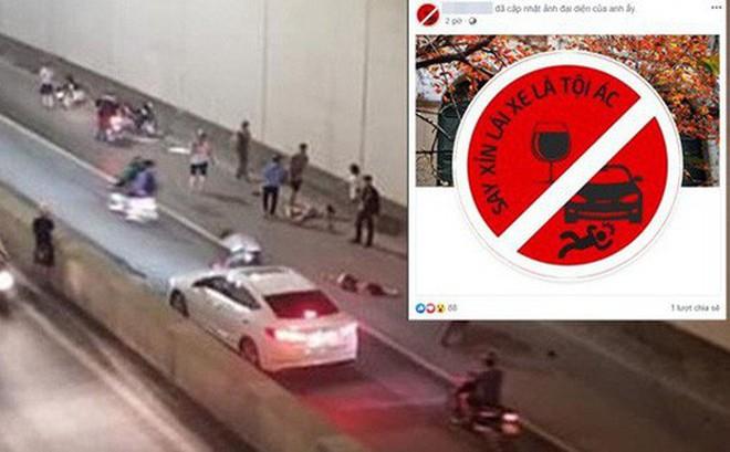Sau tai nạn thương tâm ở hầm Kim Liên, cộng đồng mạng đồng loạt thay avatar Facebook với thông điệp: Say xỉn lái xe là tội ác!