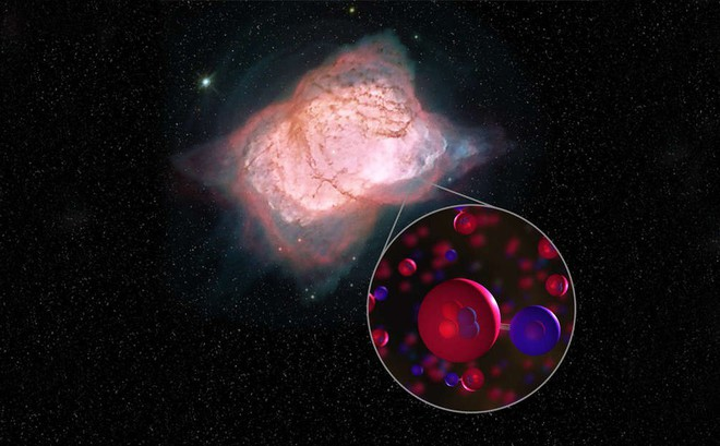 Phát hiện loại phân tử đầu tiên hình thành trong vũ trụ