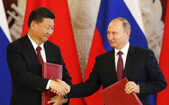 """Mỹ """"đau đớn"""" thừa nhận càng gây sức ép, quan hệ Nga - Trung càng thân thiết"""