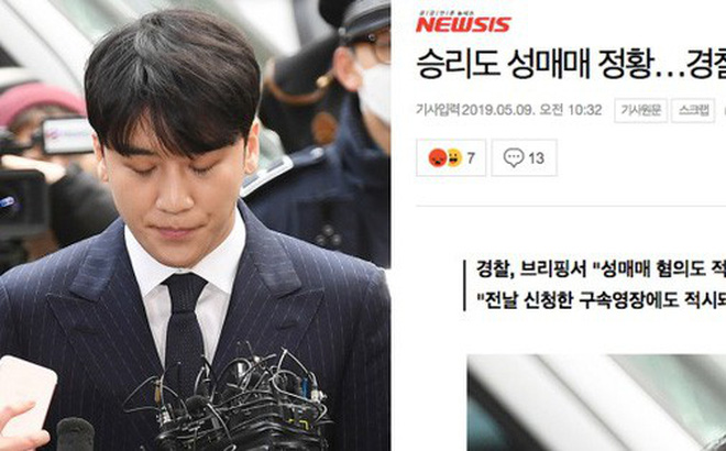 Cảnh sát tuyên bố bổ sung thêm cáo buộc mới chống lại Seungri