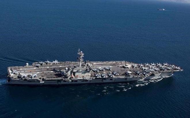Iran dọa đánh phủ đầu, phá hủy tàu sân bay Mỹ với 1 tên lửa