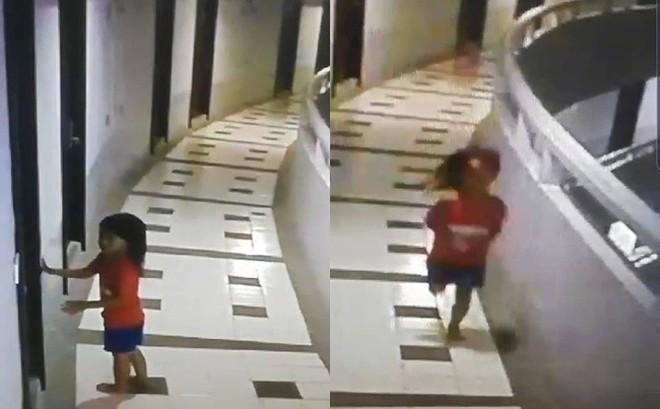 Đi du lịch cùng bố, bé gái 5 tuổi nguy kịch khi rơi xuống từ tầng 12 nhưng hình ảnh qua camera mới tiết lộ sự thật rùng mình