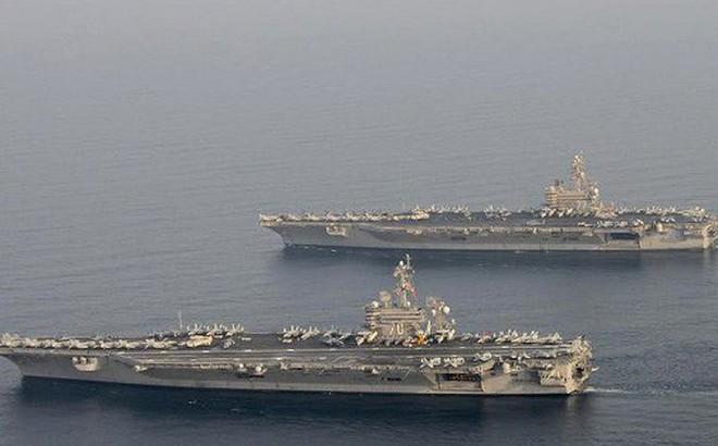 Hạm đội hùng mạnh Mỹ nằm trong tầm bắn của tên lửa Iran