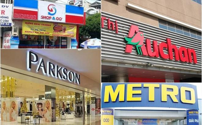 """Auchan, Metro, Parkson - các đại gia bán lẻ ngoại """"bật"""" khỏi Việt Nam"""