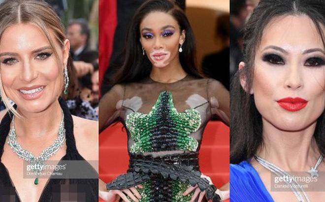 Cannes ngày 7: Mỹ nhân Ý khoe vòng 1 nhức mắt, dàn người mẫu Hollywood tung chiêu hết cỡ tại thảm đỏ