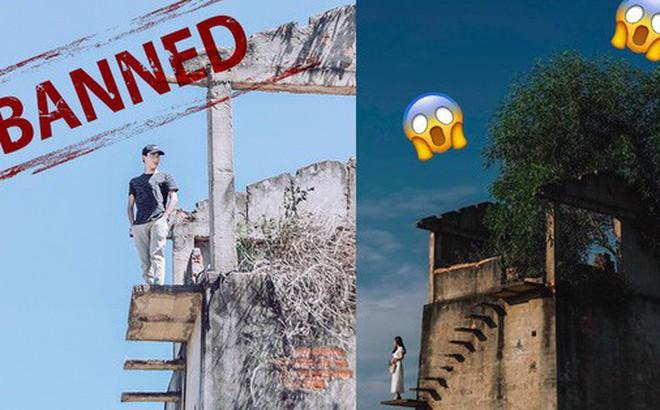 """Sự thật về góc bậc thang bỏ hoang """"cực chill"""" đang gây sốt ở Hội An: Cẩn thận không là """"một bước lên thiên đường"""" đúng nghĩa đen"""