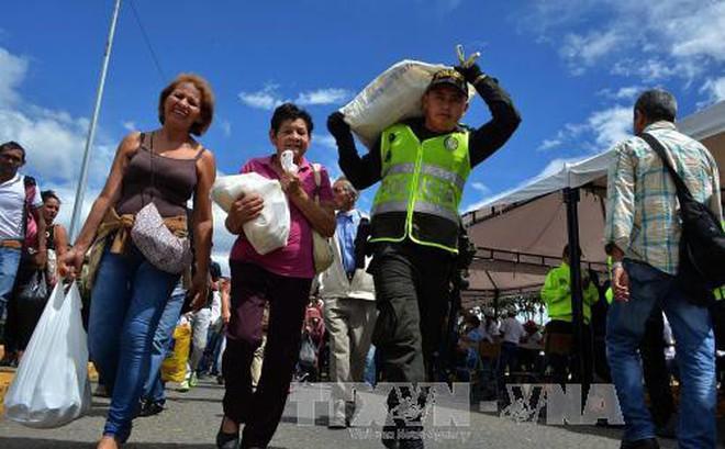 Venezuela cáo buộc Mỹ tìm cách phá hoại chương trình viện trợ lương thực