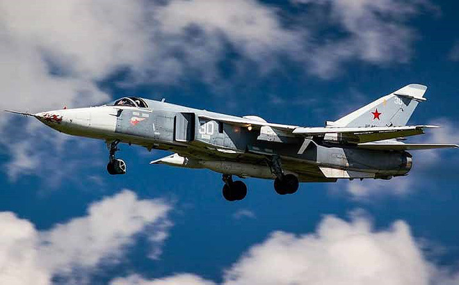 Cận cảnh không quân Nga sử dụng bom chùm diệt tăng ở Syria