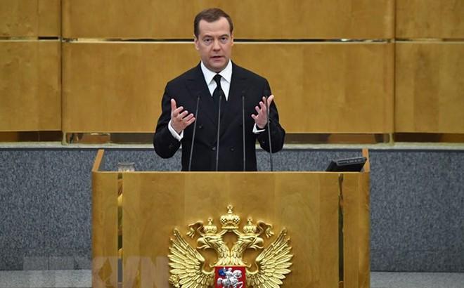 Thủ tướng Medvedev tuyên bố Ukraine có thể khôi phục quan hệ với Nga