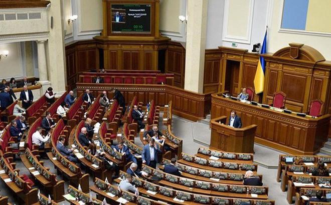 """Quốc hội Ukraine """"dội gáo nước lạnh"""" thứ 2 lên tân Tổng thống Zelensky"""