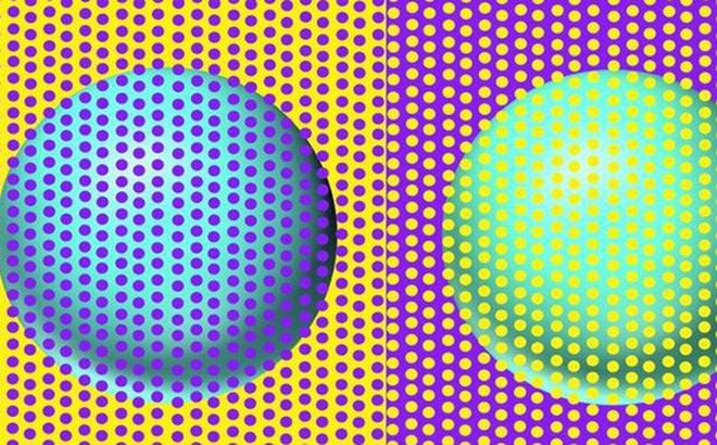 """Bức hình """"gây lú"""" nhất MXH hôm nay: Rõ ràng là một lam một xanh ngọc, thế mà hóa ra lại cùng một màu?"""