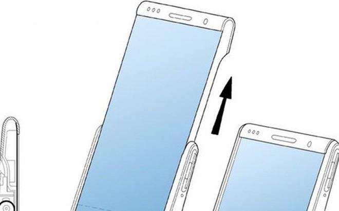 Samsung lộ sáng chế smartphone màn hình cuộn như băng chuyền, mở rộng diện tích thêm 60%