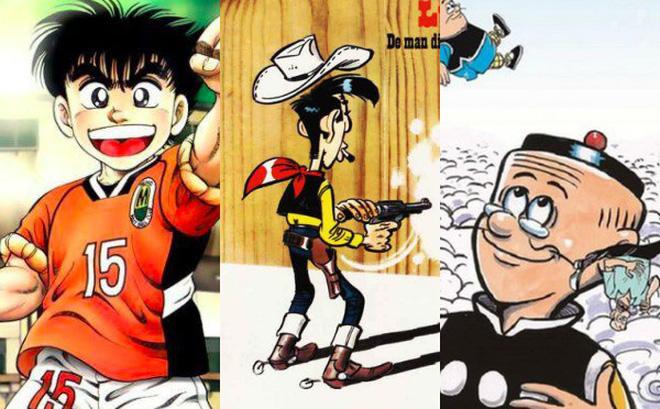 Loạt 5 truyện tranh huyền thoại mà tuổi thơ ai cũng đã từng đọc một lần