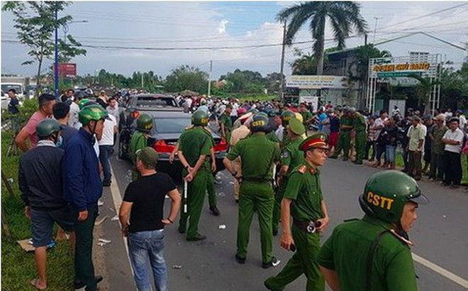 Hàng trăm cảnh sát ngăn chặn kịp thời cuộc hỗn chiến giữa hai băng nhóm ở Đồng Nai