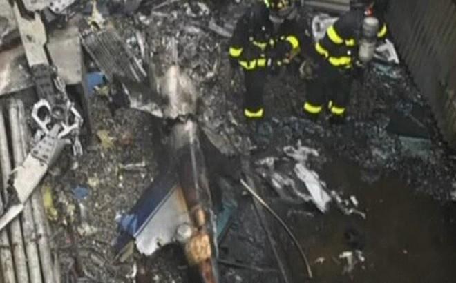 Hành động khó hiểu của phi công trực thăng đâm vào tòa nhà cao tầng ở New York