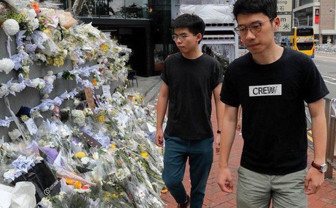 Vừa ra tù, thủ lĩnh sinh viên Hồng Kông tuyên bố biểu tình tiếp