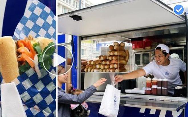 Chàng trai gốc Việt mở xe bán bánh mì gây chú ý tại Canada