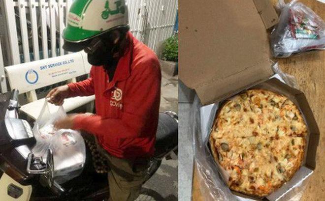 """Chú xe ôm buồn bã khi bị """"thượng đế"""" bom chiếc pizza gần 200k giữa đêm: """"Pizza thì chú cũng không biết ăn, chắc bỏ thôi..."""""""
