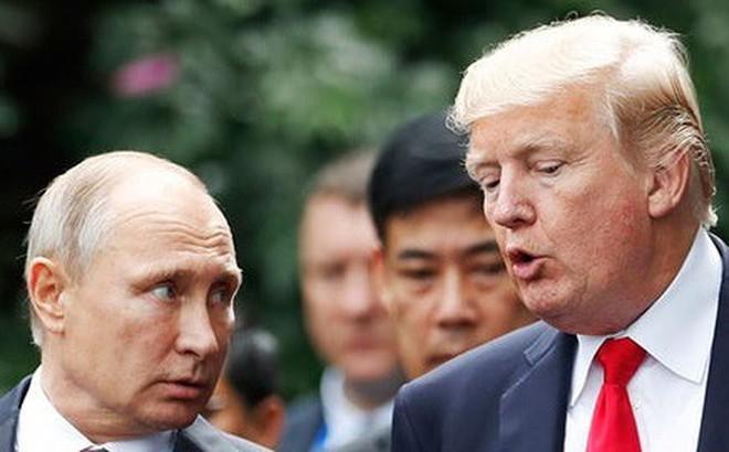 Tổng thống Nga Putin ca ngợi Tổng thống Mỹ Trump là tài năng