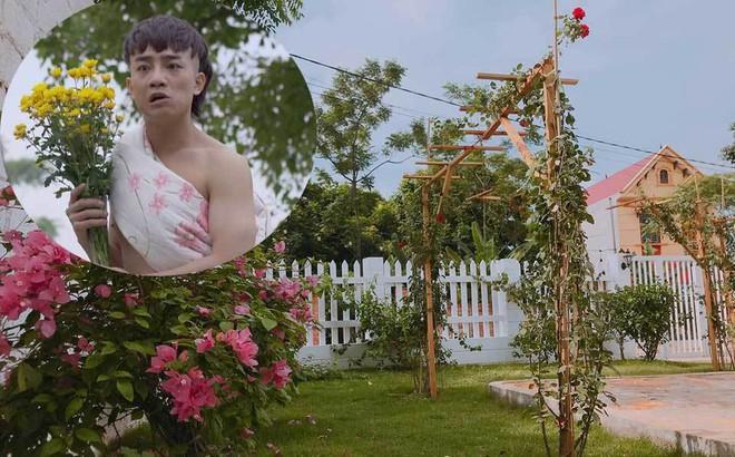 Nhà vườn 1000m2 của Thịnh Ngựa phim 'Mê cung'