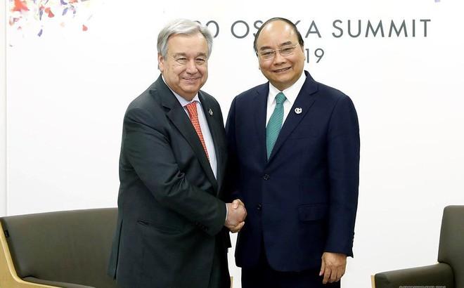 Tổng Thư ký Liên hợp quốc: Việt Nam là nhân tố quan trọng của Hội đồng Bảo an