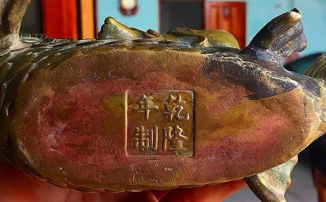 Phát hiện nhiều tượng kim loại nghi cổ vật gần 'kho báu' núi Tàu
