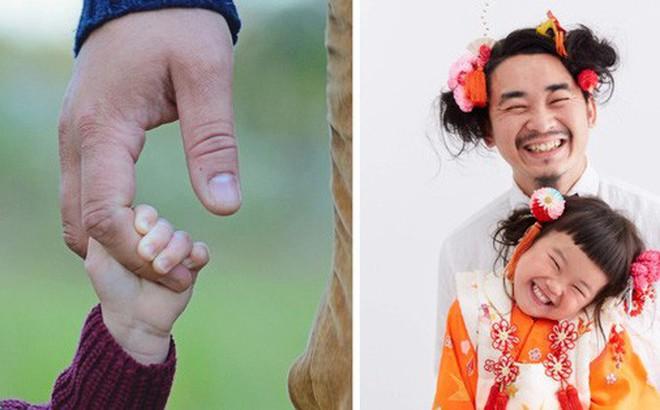 """Cha con nhà người ta: Ông bố nuôi tóc đằng đẵng 2 năm trời để chụp một kiểu ảnh với con gái cho """"tông xuyệt tông"""""""