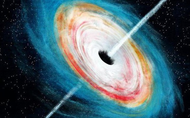 """Siêu lỗ đen """"ma"""" bằng 800 triệu Mặt trời hé lộ hiện tượng lạ"""