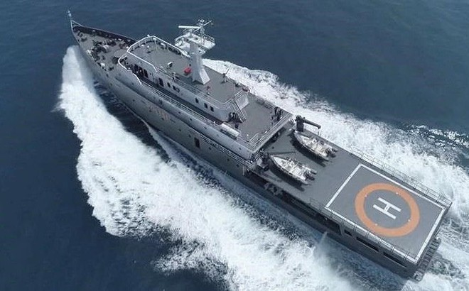 Indonesia triển khai tàu tuần tra tối tân ra Biển Đông