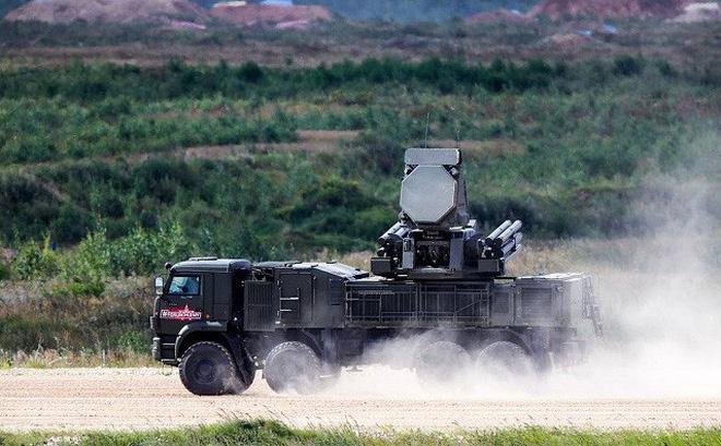Hệ thống Pantsir-S1 của Nga bắn hơn 100 mục tiêu tại Crimea