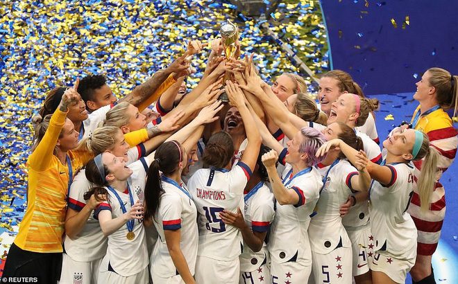 Tuyển Mỹ lập kỷ lục vô địch World Cup nữ