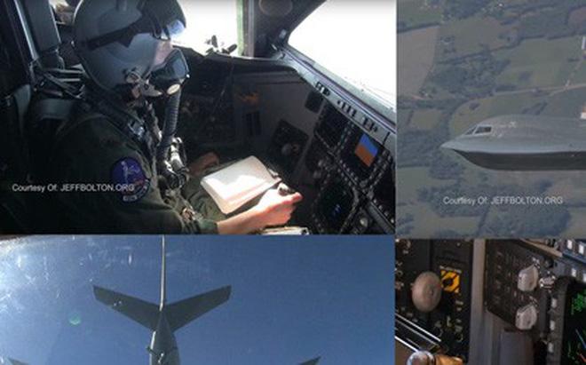 Video cận cảnh hoạt động bên trong buồng lái của máy bay B-2