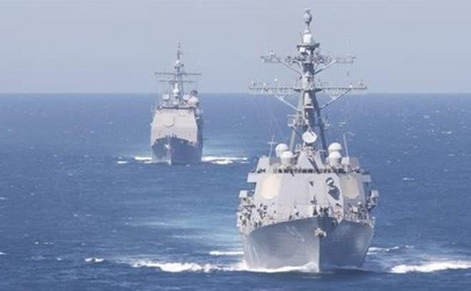 Mỹ kêu gọi đồng minh lập đội săn tàu dầu từ Iran ở vùng Vịnh?