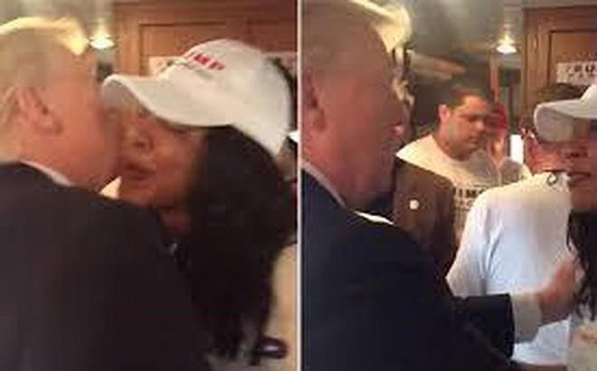 Ông Trump dính lùm xùm cưỡng hôn nữ nhân viên