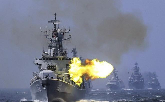 """Hé lộ """"góc khuất"""" Trung Quốc muốn giấu Mỹ trong cuộc tập trận gần eo biển Đài Loan"""