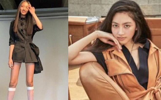 Kiều nữ 14 tuổi nhà 'ông hoàng phim 18+ Hong Kong' gây sốt: Cao 1m8, chân dài miên man không có đối thủ