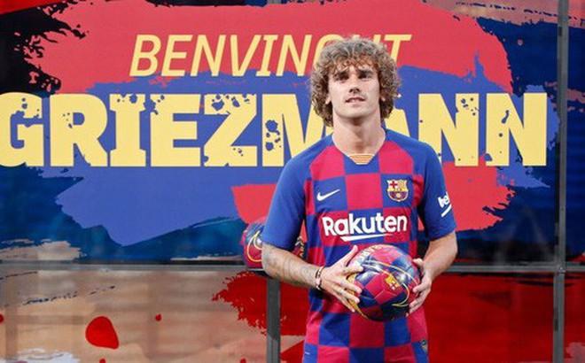 """Về Barcelona rồi, """"bom tấn"""" 120 triệu euro Antoine Griezmann biết đá ở đâu?"""