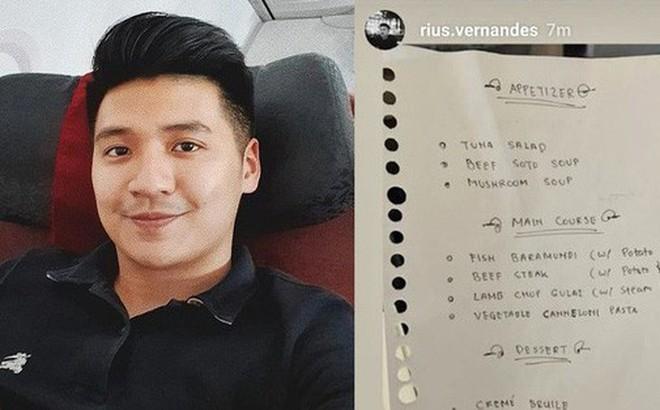 Đăng ảnh phàn nàn menu viết tay trên máy bay, cặp đôi blogger du lịch bị kiện và sắp sửa đối mặt mức án 4 năm tù giam