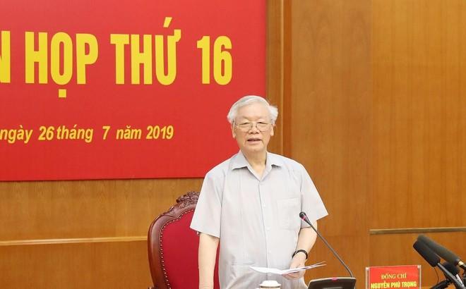 Phát biểu quan trọng của Tổng bí thư Nguyễn Phú Trọng