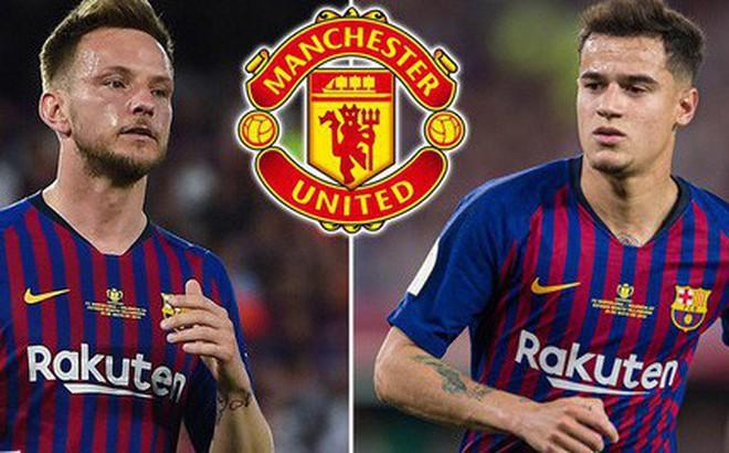 Barca 'nhờ' MU lấy gấp Coutinho lẫn Rakitic