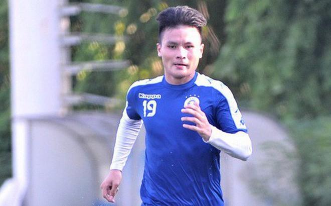 Vượt qua nỗi buồn, Quang Hải trở lại hội quân cùng Hà Nội FC