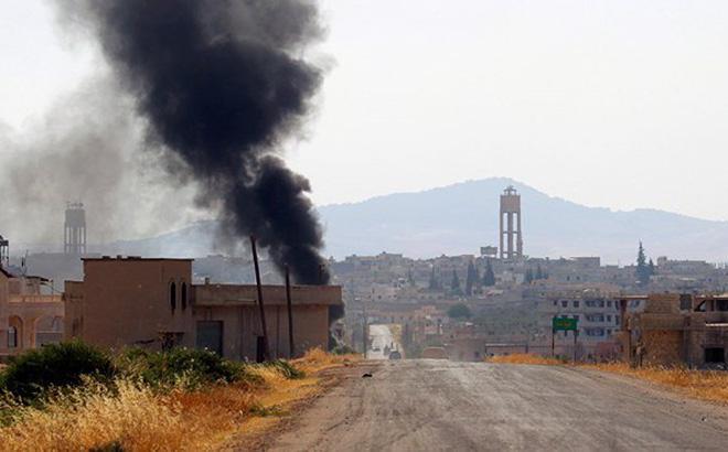 Israel phóng liên tiếp tên lửa vào lãnh thổ Syria trong đêm qua?